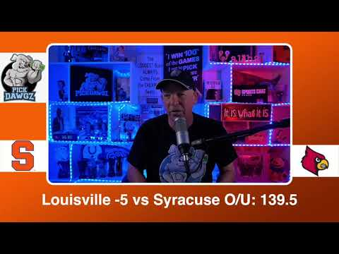 Louisville vs Syracuse 2/17/21 Free College Basketball Pick and Prediction CBB Betting Tips