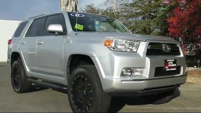 Charming 2011 Toyota 4Runner Sr5 W/leather Int. *lifted* Sacramento Redding Reno San  Francisco Stockton