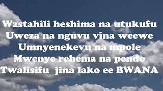 Wastahili Heshima - Oscar Goodluck