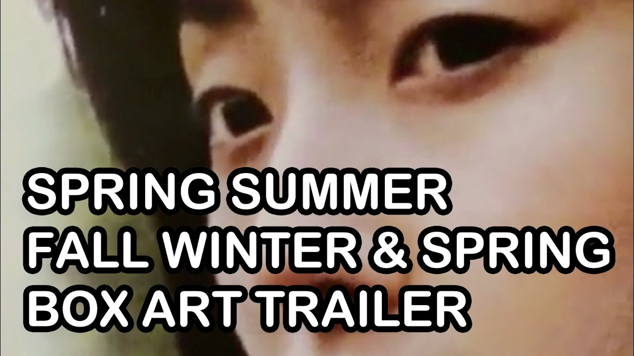 Spring Summer Fall Winter And Spring Box Art Trailer Youtube