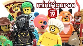 lEGO Minifigures Series 19 review! 2019 set 71025!