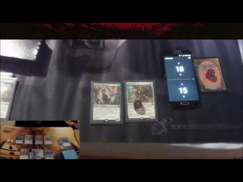 MtG. Abzan Rallier Vehicles VS BG Energy Aggro. Revolt Standard