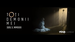 Смотреть клип Vunk Ft. Feli - Toti Demonii Mei