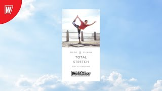 TOTAL STRETCH с Олесей Горковенко 1 февраля 2021 Онлайн тренировки World Class
