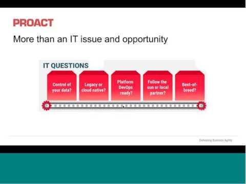 Proact Webinar IaaS Infrastructure as a Service IaaS 2016-06-14