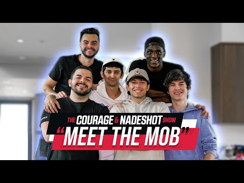 HOW 4 FRIENDS EXPLODED INTO TWITTER SUPERSTARS - The CouRage And Nadeshot Show #9