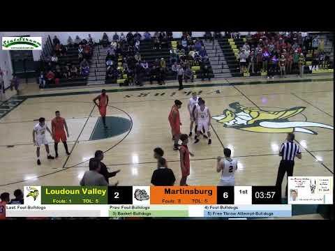 Basketball Boys Loudoun Valley vs Martinsburg 121318