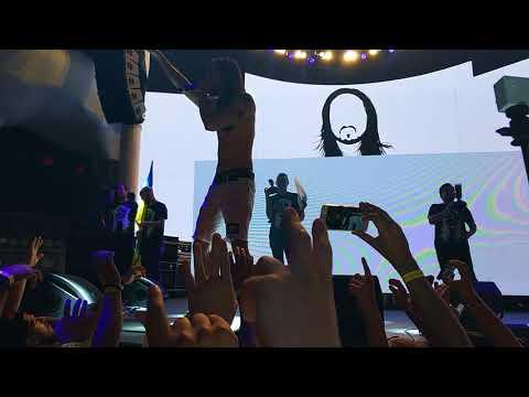 Steve Aoki @ Ibiza Night Club, Odessa, Ukraine (2017.08.17)