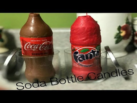 Making Soda Candles Bottles with Iamtrinitytaylor