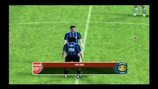 Fifa Football 2004 PS2 Arsenal VS Inter Milan