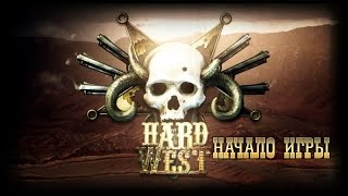 Hard West Начало Игры (First Minutes PC Gameplay 60FPS)