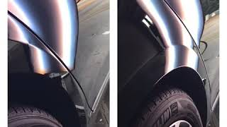 Paintless Dent Removal on body line