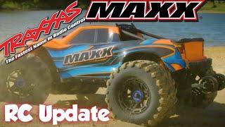 rc update traxxas 10th maxx 4s truck