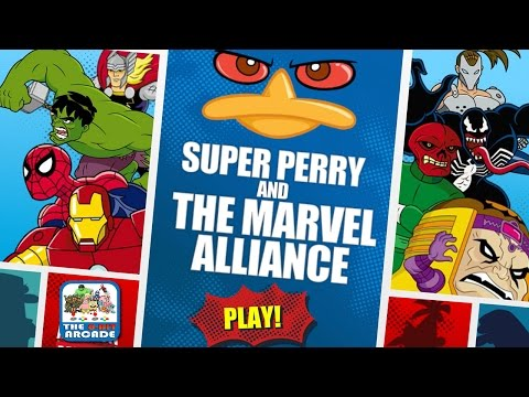 Super Perry and the Marvel Alliance - Agent P Teams Up with Marvel Super Heroes (Disney Games)