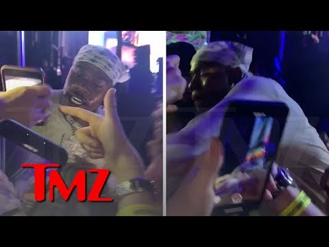 Chuck Dizzle -  DaBaby Appears to Throw a Punch at Fan Who Touches His Chain