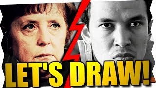 ANGELA MERKEL'S PROBLEM... - Let's Draw