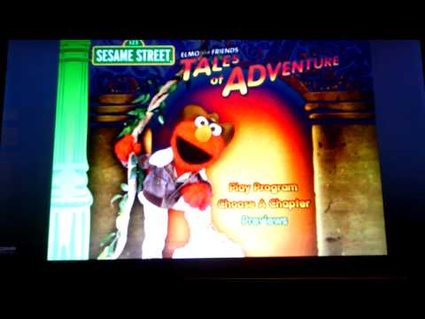 Elmo and Friends-Tales of Adventure