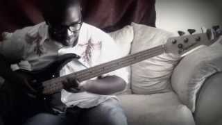 "Awilo Longomba - Gate le Coin ""African Soukous"" bass cover by Yosia Kalunda"