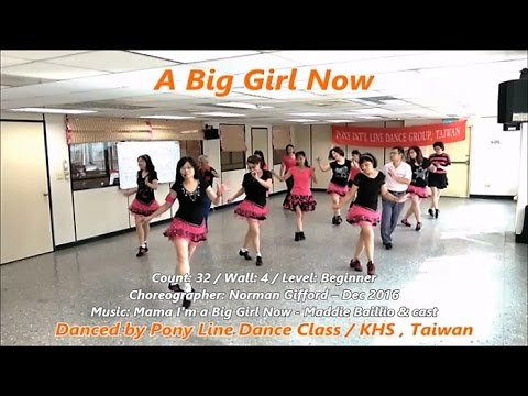 Big girl line dance