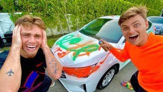 CARTER SHARER WRECKED MY CAR!