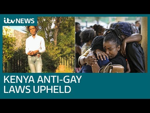 LGBT Activist Remains In Exile As Kenya Upholds Anti-gay Laws | ITV News