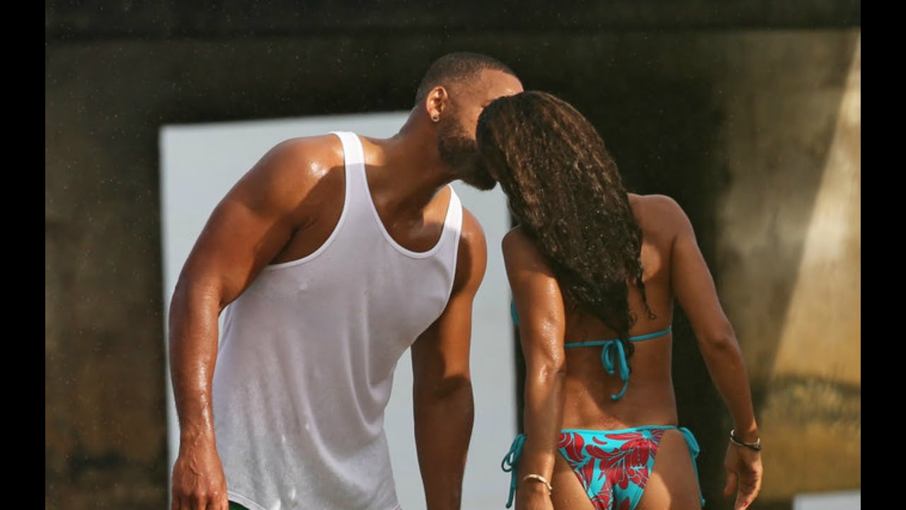 Jada Pinkett And Will Smith Kissing In Public - YouTube