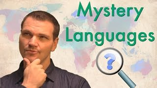 Mystery Languages - Can You Guess What They Are?