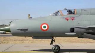 Air Chief flies MiG-21