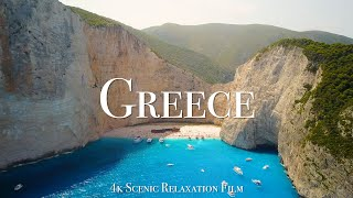 Greece 4K - Scenic Relaxation Film With Calming Music
