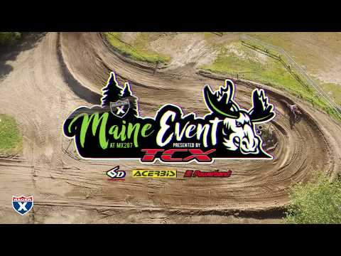 Racer X Films: A Lap Around MX207 (2017 Racer X Maine Event)