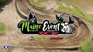 The Racer X Maine Event, presented by TCX is an AMA Pro-Am event on...