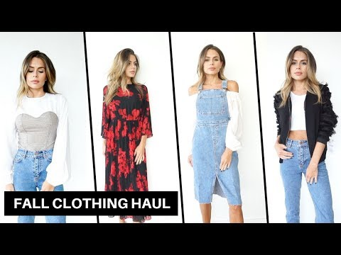 First Fall Clothing Haul + Try On (River...