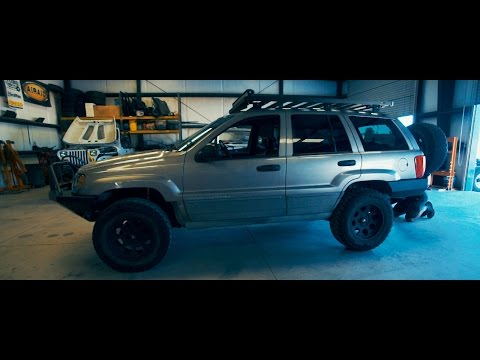 1999 JEEP WJ: PROTO FAB ROCKSOLID BUMPER AND TIRE CARRIER