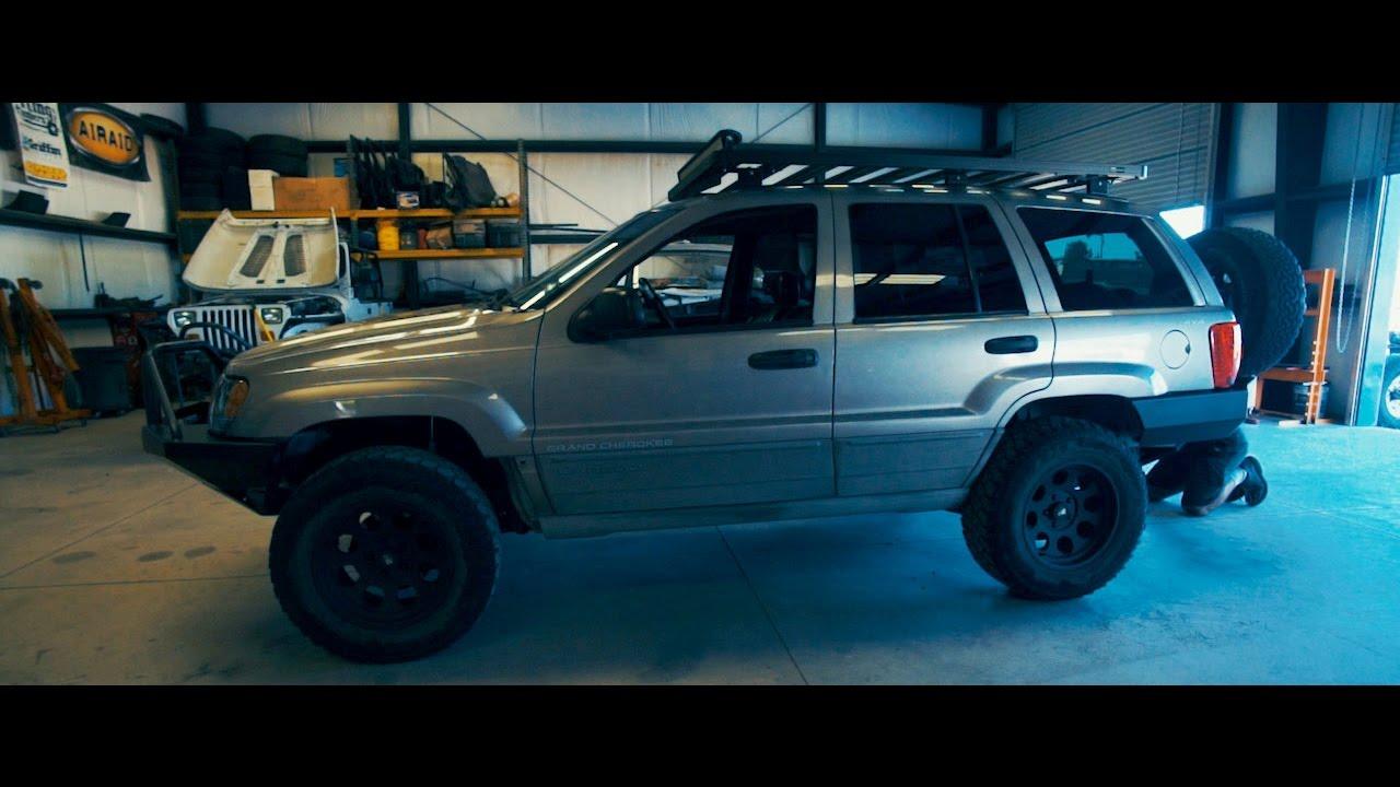 Jeep WJ: Proto Fab RockSolid Bumper Install