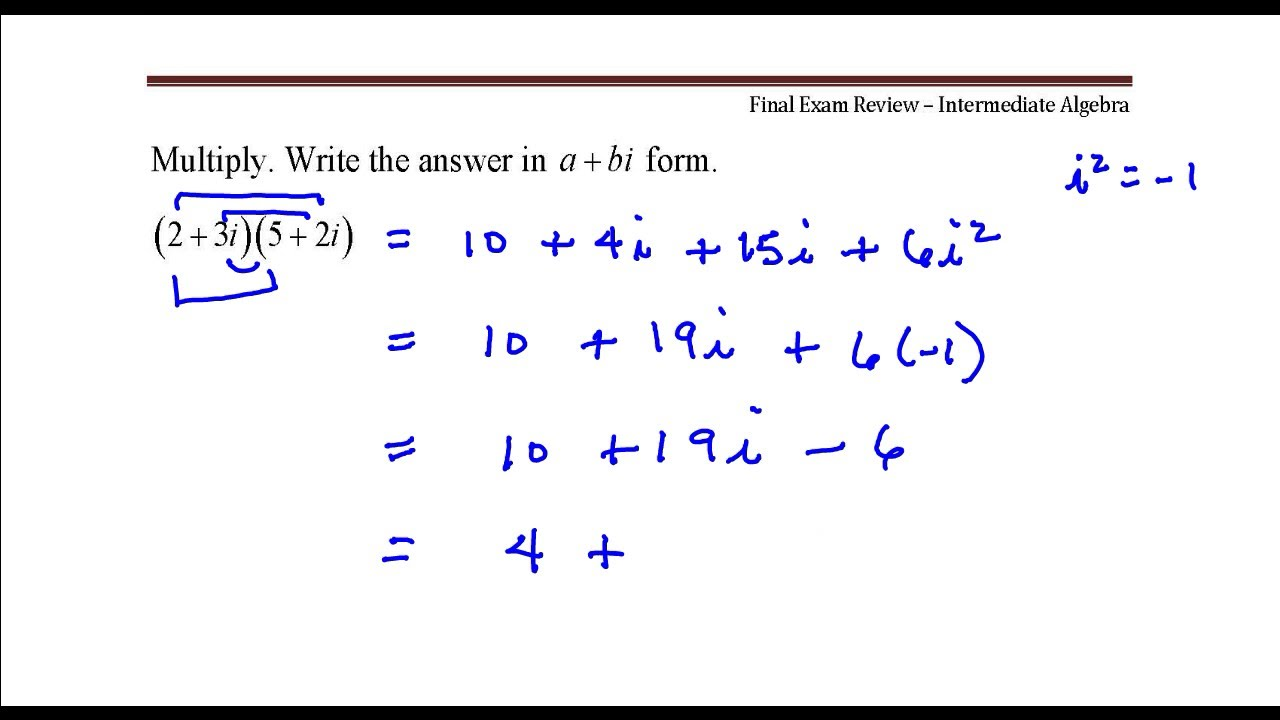 Multiply write the answer in abi form youtube write the answer in abi form falaconquin