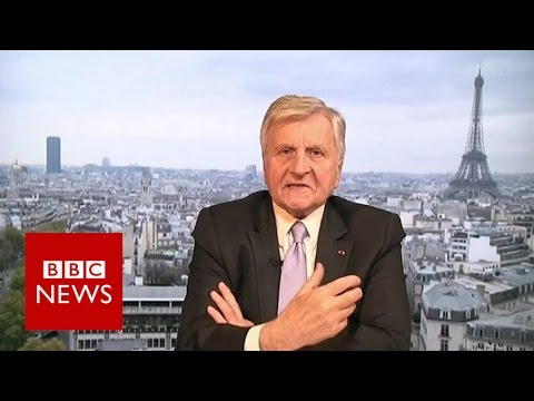 UK losses after Brexit would be 'gigantic' says Jean-Claude Trichet - BBC News