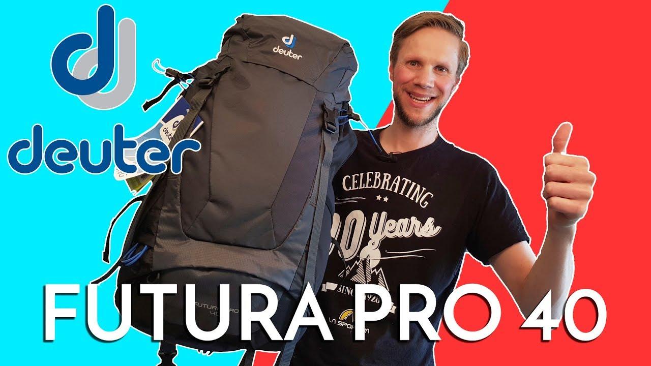 48753b1019 Deuter Futura Pro 40 - YouTube