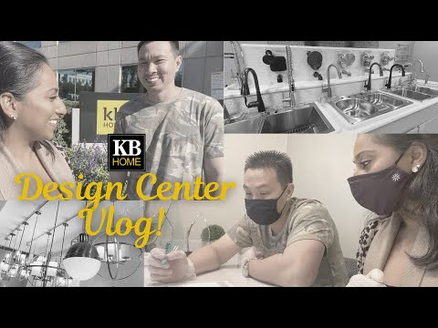 KB Homes: New Home Design Center Visit During a Pandemic!! Model 1989/ Orlando (Moving Vlog #2)