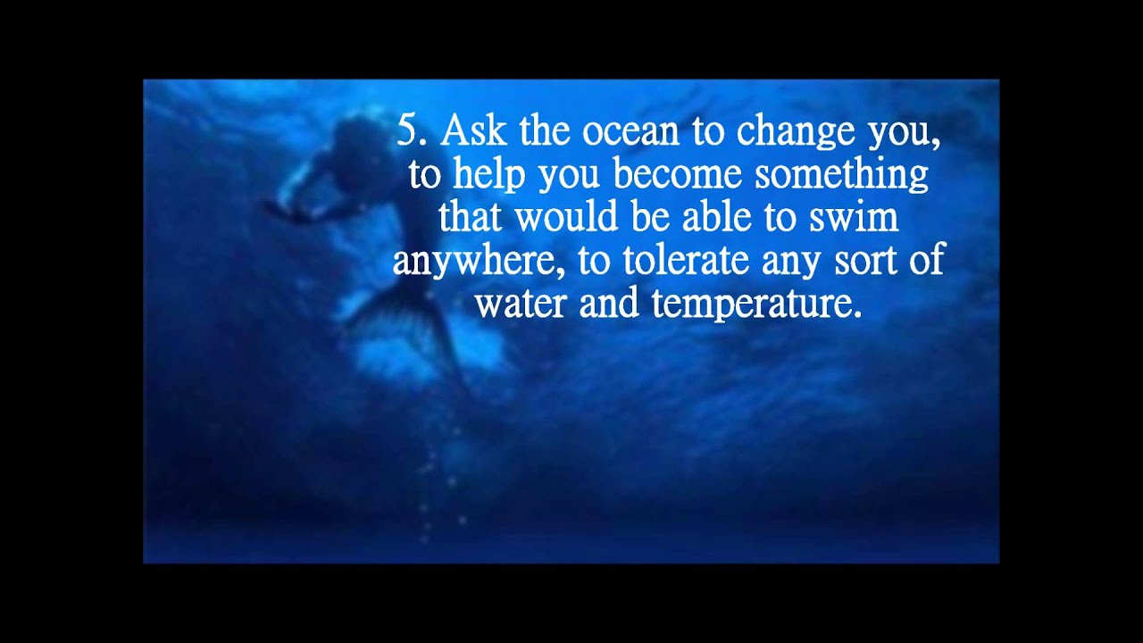 How To Become A Mermaid/Merman Without A Spell - YouTube