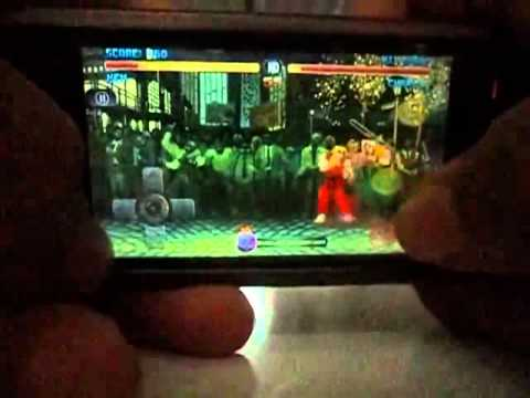 Street Fighter Alpha Fighting Mobile Game for S60v5 Symbian^3 Gameplay
