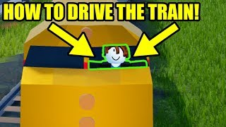 HOW to DRIVE the JAILBREAK TRAIN! | Roblox Jailbreak