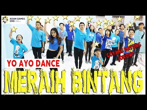 VIA VALLEN - MERAIH BINTANG - YO AYO DANCE - GOYANG DAYUNG JOKOWI - ASIAN GAMES / Choreo By Diego