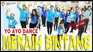 Download Video VIA VALLEN - MERAIH BINTANG - YO AYO DANCE - GOYANG DAYUNG JOKOWI - ASIAN GAMES / Choreo by Diego MP3 3GP MP4