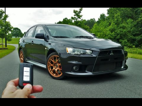 mitsubishi evo 2013 black. 2013 mitsubishi lancer evolution x mr start up exhaust test drive and review youtube evo black