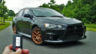 2013 Mitsubishi Lancer Evolution X MR: Start Up, Exhaust, Test Drive and Review