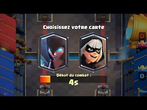 Clash Royale DEFI DU TIRAGE DE LA VOLEUSE