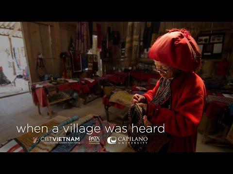 When a Village was Heard - Capilano U / PATA Foundation Tourism Project (Sapa, Vietnam)