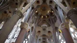 Храм Святого Семейства (Саграда Фамилия), Барселона 2013(Храм Святого Семейства - одна из самых главных достопримечательностей Барселоны. Самое известное творение..., 2013-05-21T01:39:28.000Z)