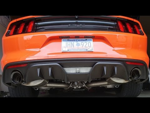 2015 - 16 Mustang RTR Rear Valance Install & Review RTR ...
