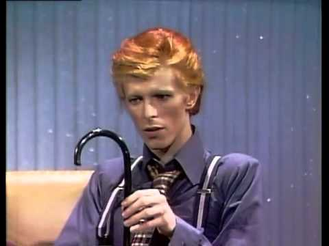 David Bowie Interview on Dick Cavett - 1974